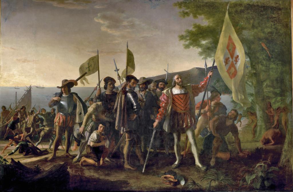 John Vanderlyn - Landing of Columbus