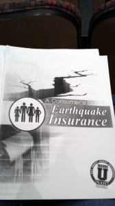 A Consumer's Guide to Earthquake Insurance