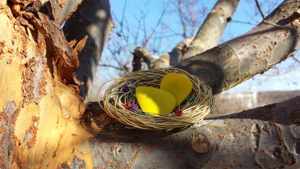 Junkyard Heartstrings Nest